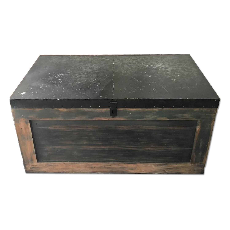 Pottery Barn Trunk Coffee Table w Storage AptDeco