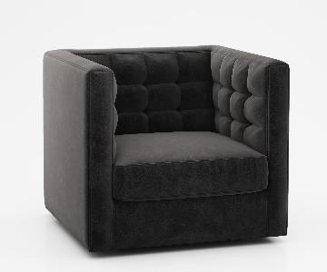West Elm Rochester Swivel Chair