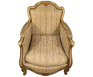 20th Century French Armchair In Louis XV Style