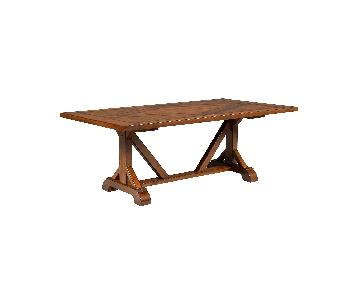 Macy's Mandara Wood Dining Table