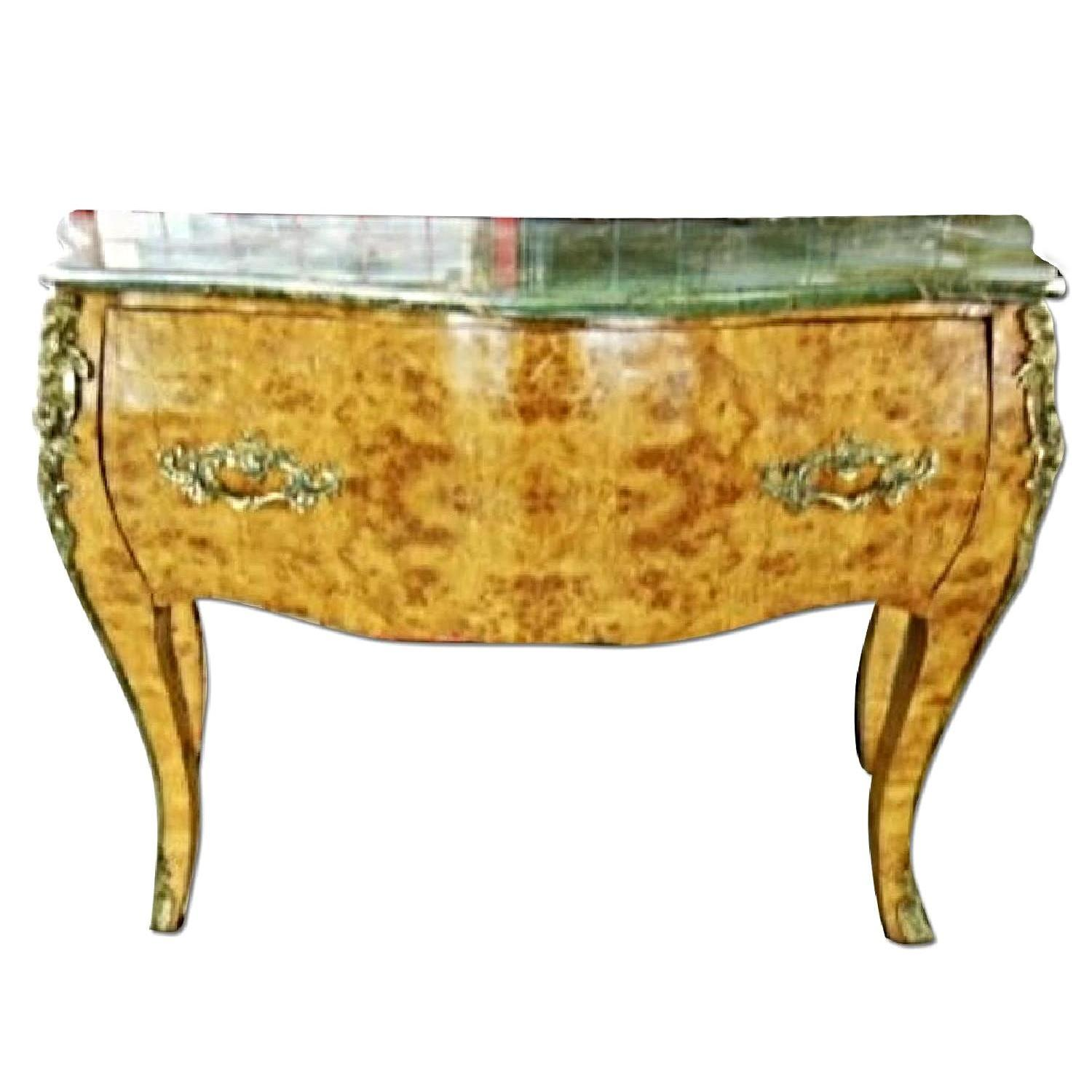 Louis XV Bombe Server Commode