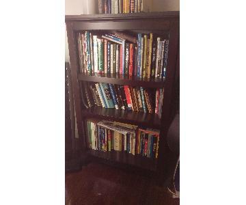 Target Carson Chestnut 3-Shelf Bookcase