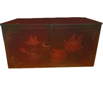 Antique Chinese Trunk/Coffee Table
