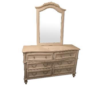 Raymour & Flanigan Dresser w/ Mirror