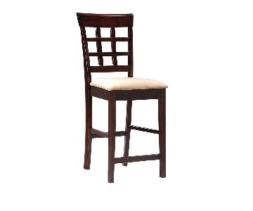 Coaster Fine Furniture Cappuccino Bar Stool