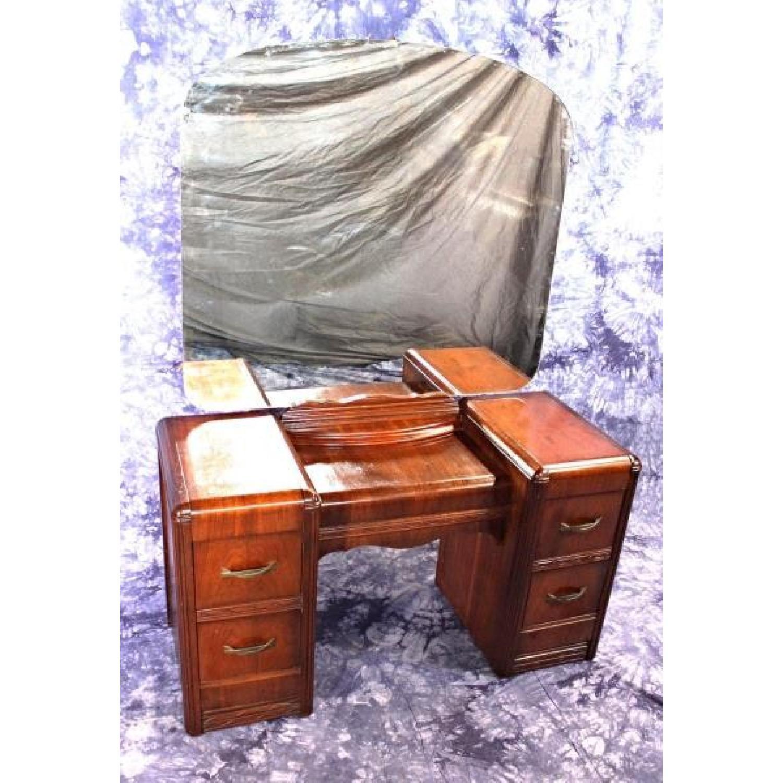 1930 S Antique Art Deco Vanity Dresser W Mirror Aptdeco