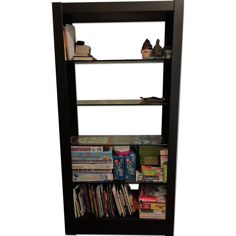 100 glass shelves bookcase alecia u0026 jon u0027s luminous