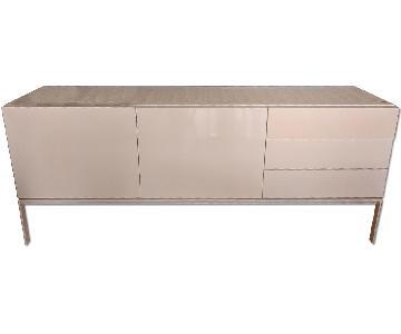 Modern White Gloss Sideboard/ Credenza