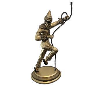 Court Jester Statue