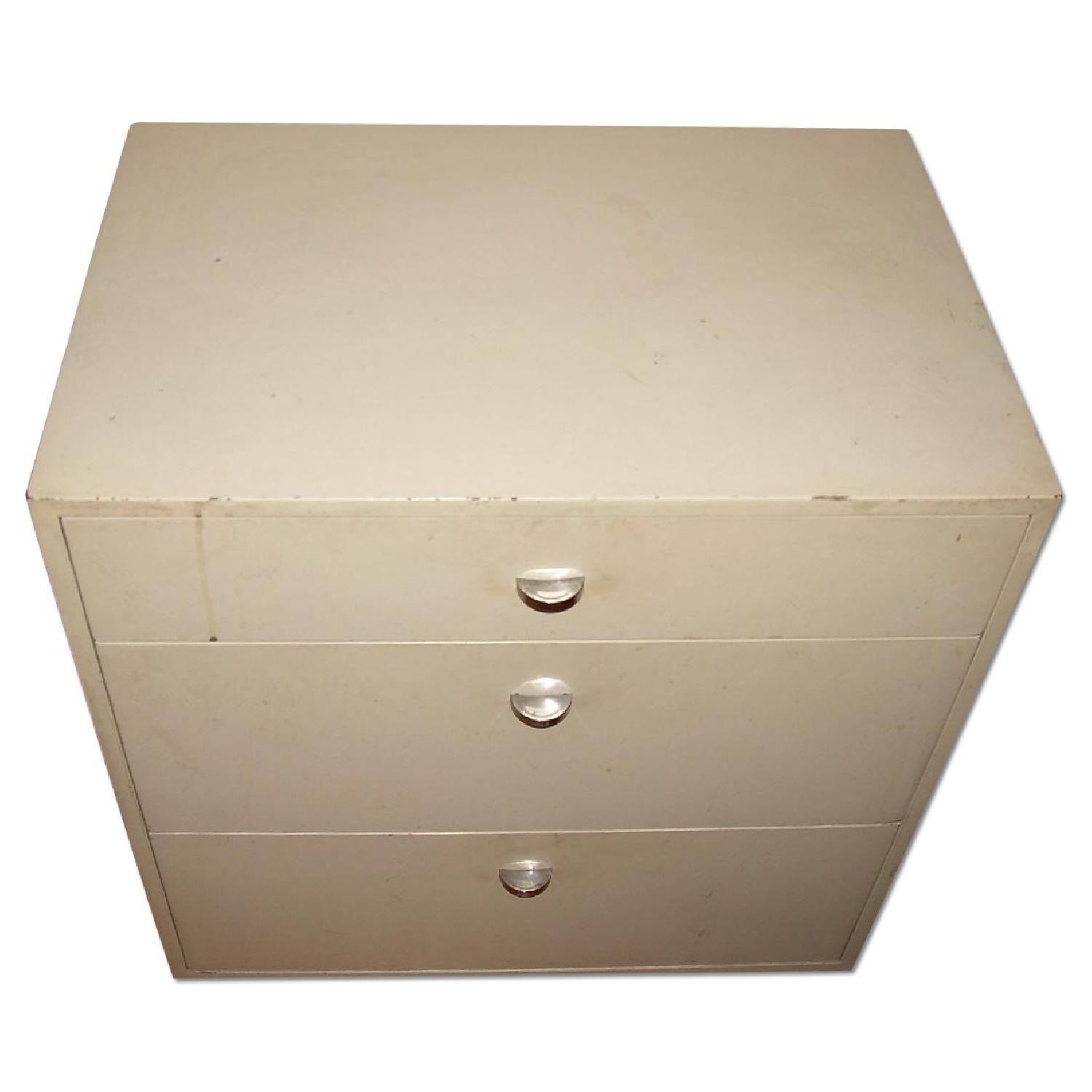 Formica 3 Drawer Commode/Chest