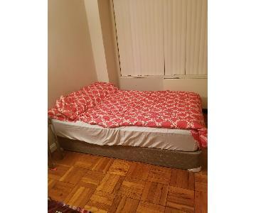hampton u0026 rhodes queen size bed frame
