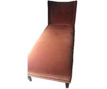 Jonathan Adler Velvet Morrow Chaise