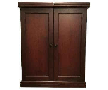 Pottery Barn Bar Cabinet