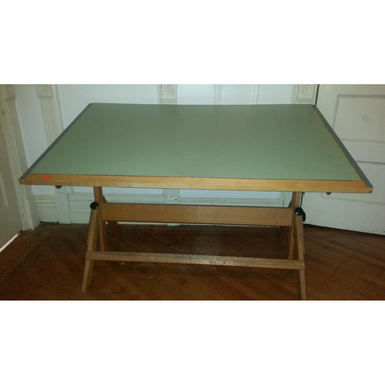 vintage drafting table