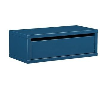 CB2 Slice Blue Wall Mounted Storage Shelf