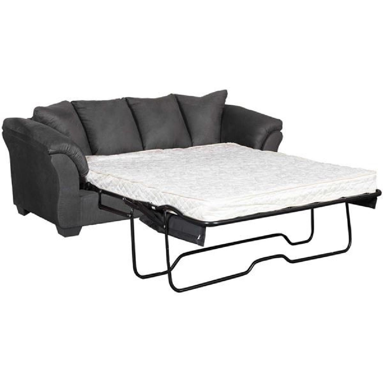 Ashley Darcy Black Full Sofa Sleeper Aptdeco