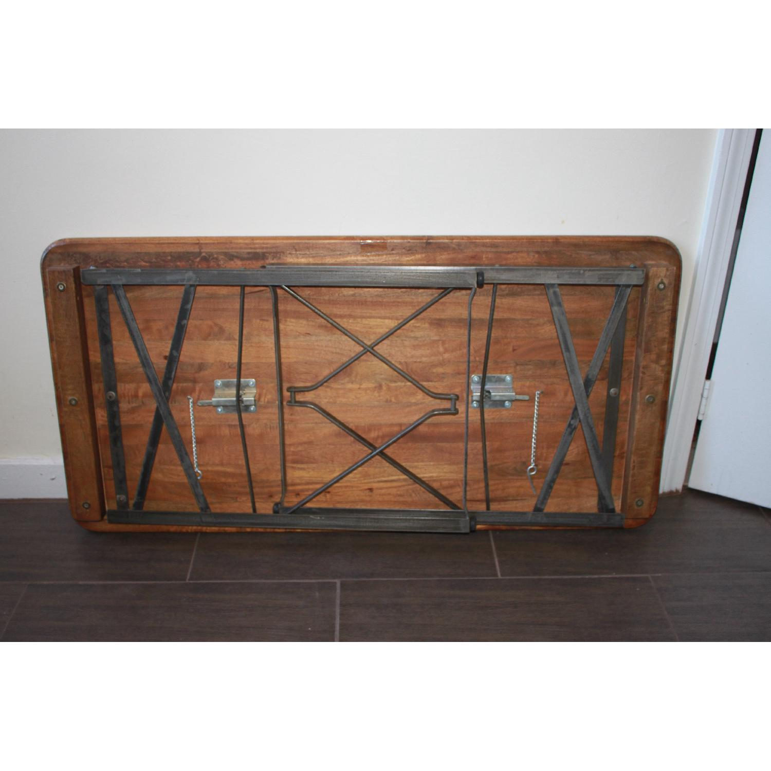 Reclaimed Wood Folding Table/Kitchen Table