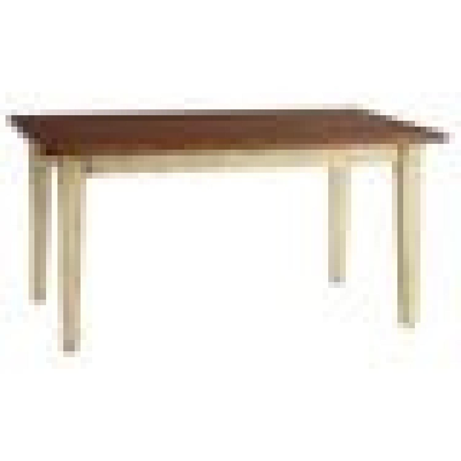 Pier 1 Dining Table in Antique Ivory - image-0