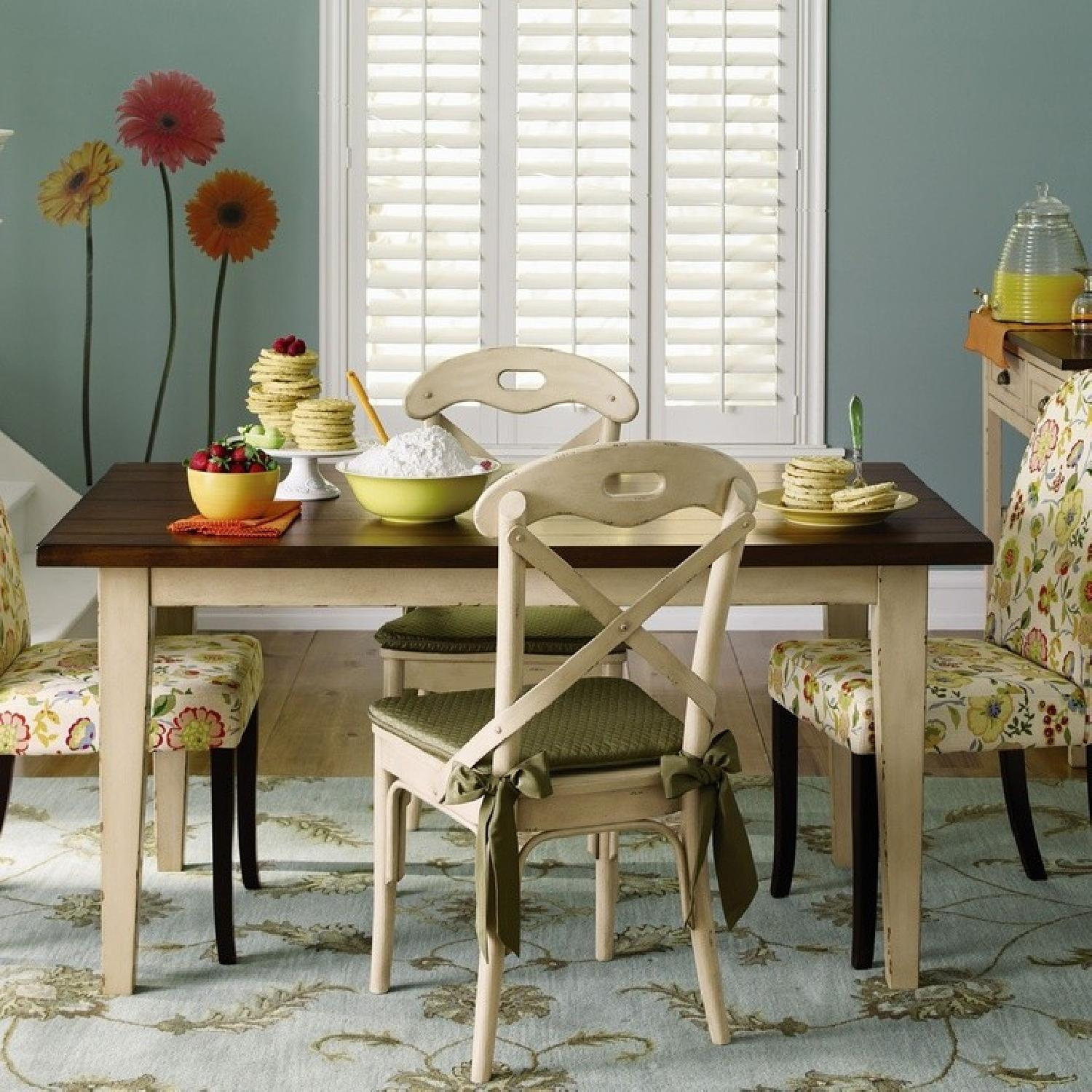 Pier 1 Dining Table in Antique Ivory - image-3