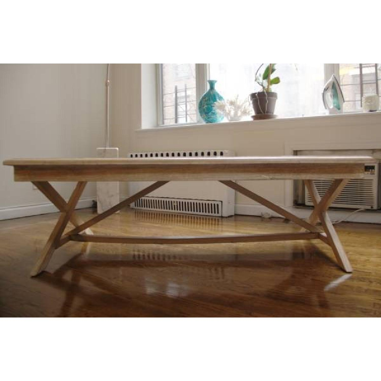 ABC Carpet & Home Handcrafted Coffee Table - image-4