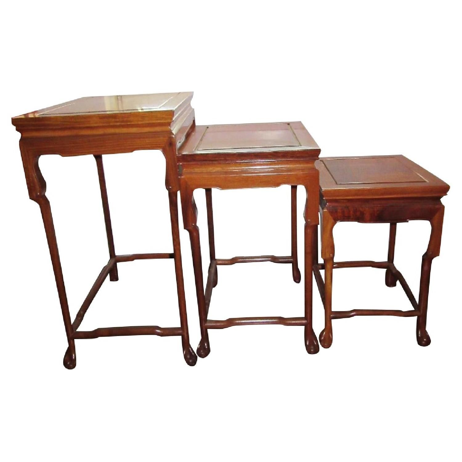 Stacking Side Tables - Set of 3 - image-0