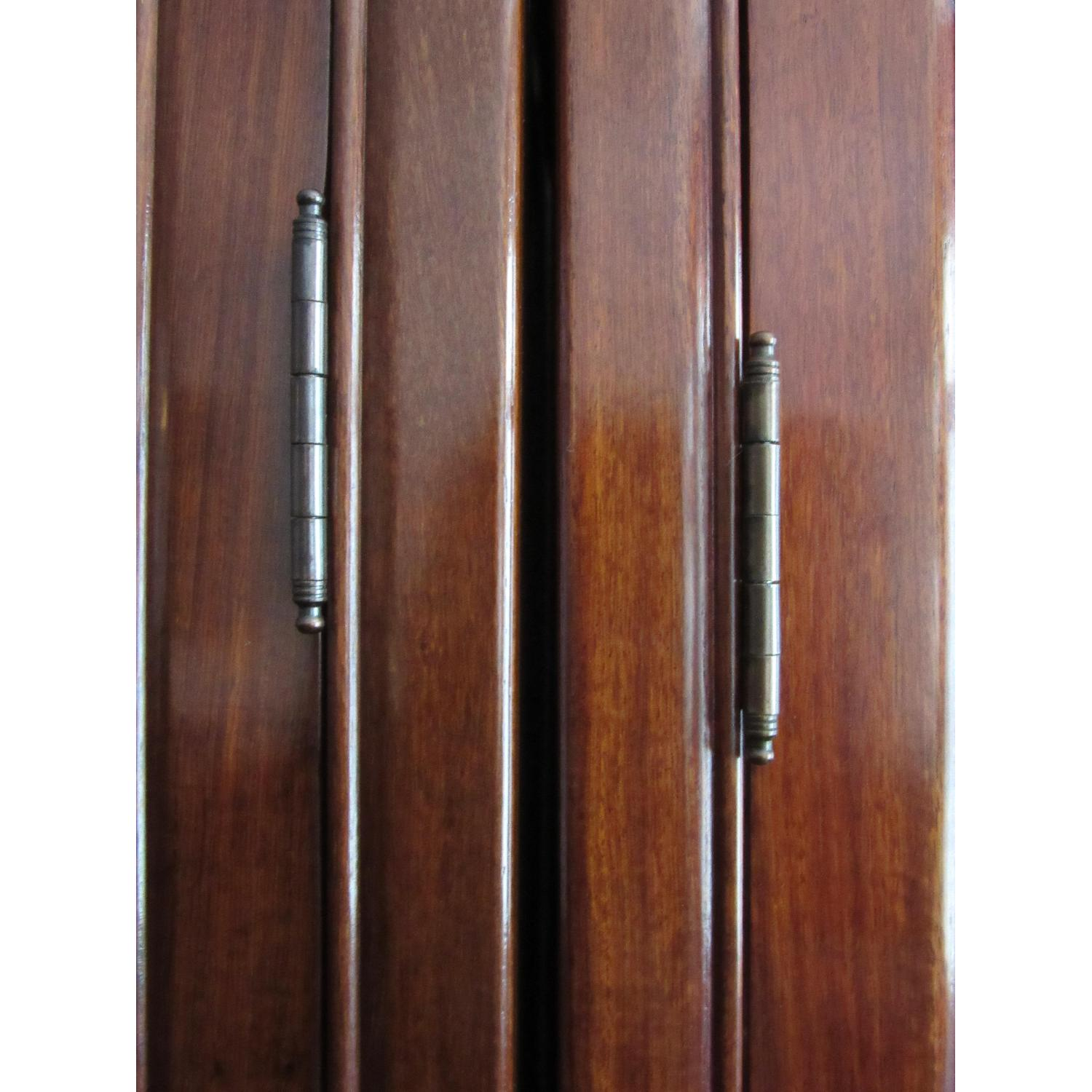 Rosewood Elm Glass Door Cabinets - 2 Available - image-6