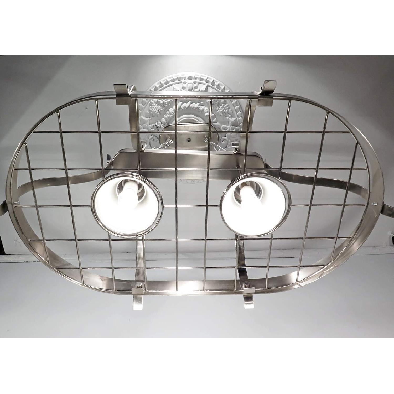 Vintage Style Chandelier Large Island Industrial Light Fixture - image-4