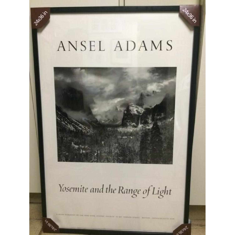 Ansel Adams Framed Poster - Yosemite and the Range of Light - image-1