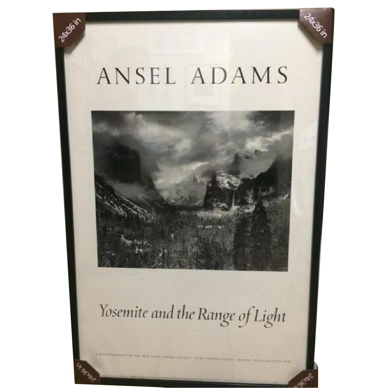 Ansel Adams Framed Poster - Yosemite and the Range of Light - image-0