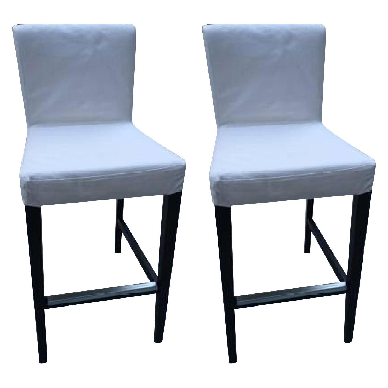 Ikea Bar Stools - Pair - image-0