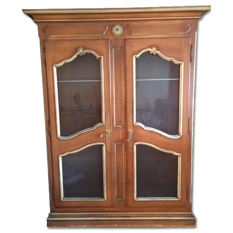 Vintage China Cabinet - image-0