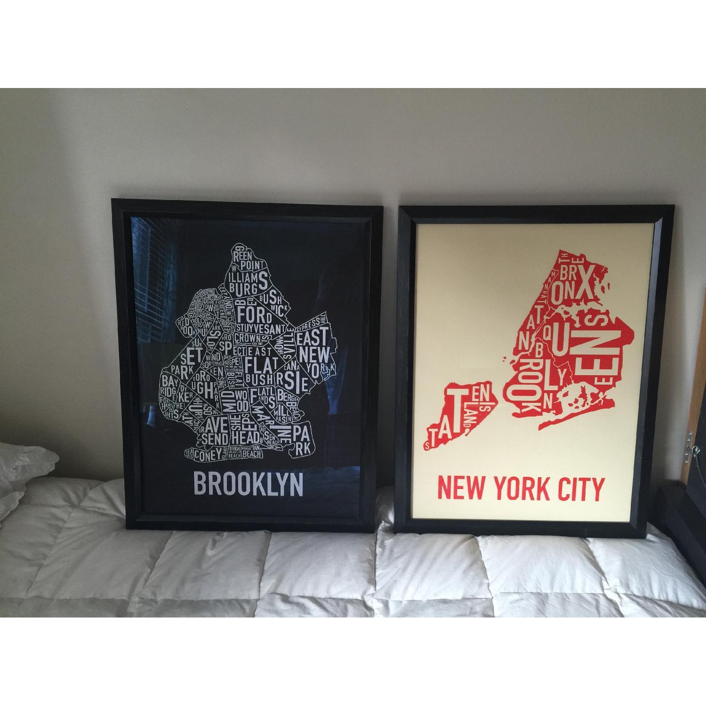 Brooklyn in Type - Pair - image-1