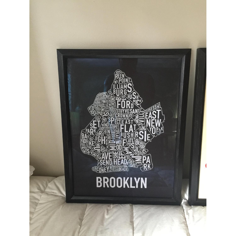 Brooklyn in Type - Pair - image-2