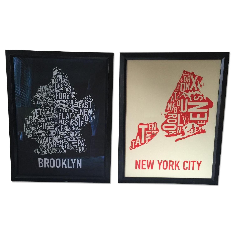 Brooklyn in Type - Pair - image-4