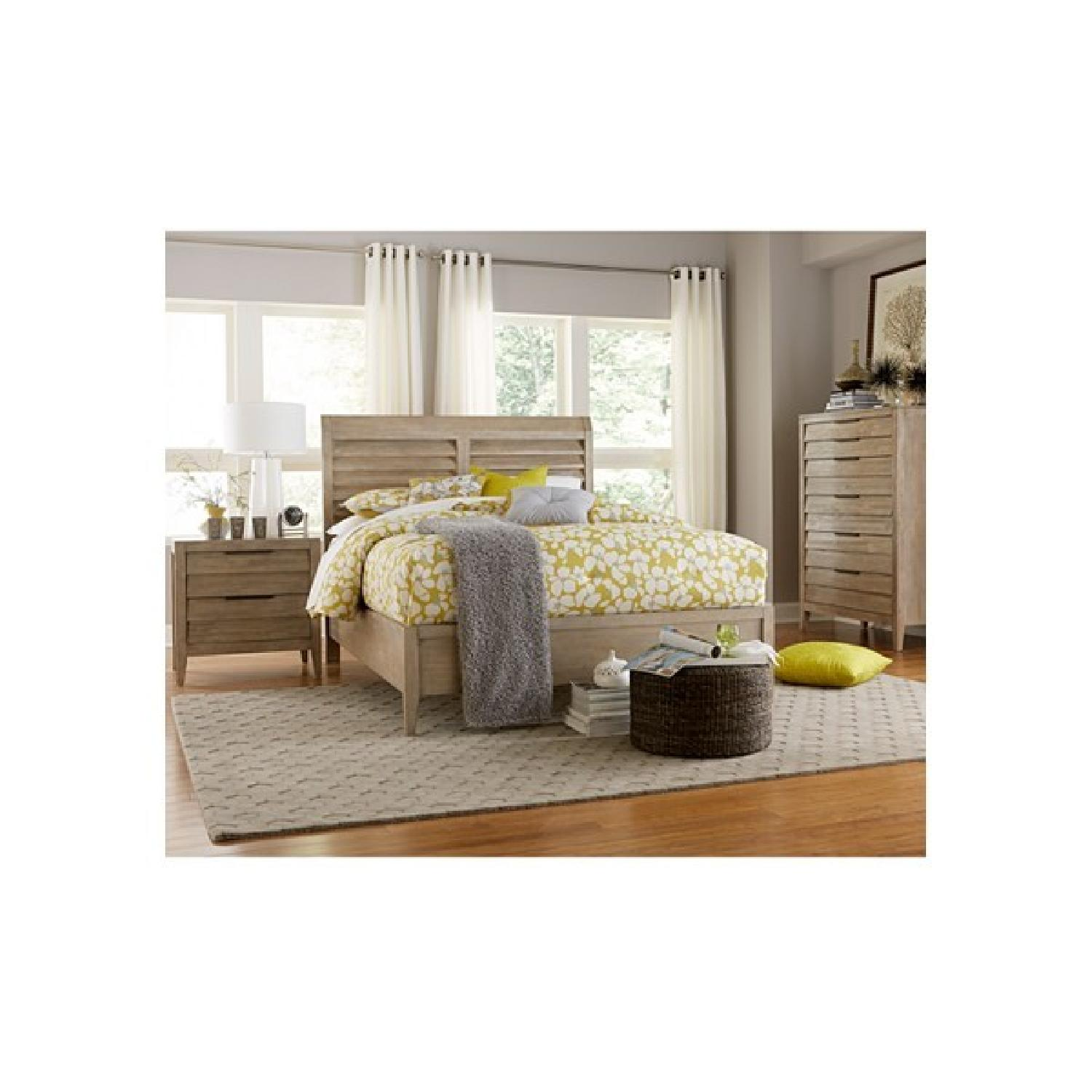 Macy's Acacia HardWood Natural Style Queen Bed Frame - image-4