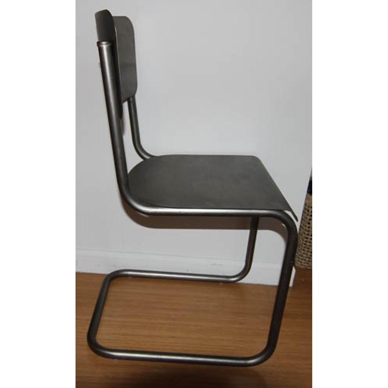 Restoration Hardware Metal Schoolhouse Side Chairs - Set of 4 - image-2