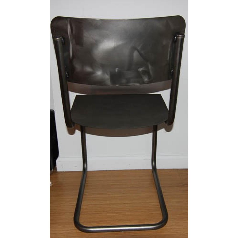 Restoration Hardware Metal Schoolhouse Side Chairs - Set of 4 - image-3