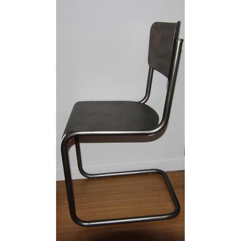 Restoration Hardware Metal Schoolhouse Side Chairs - Set of 4 - image-4