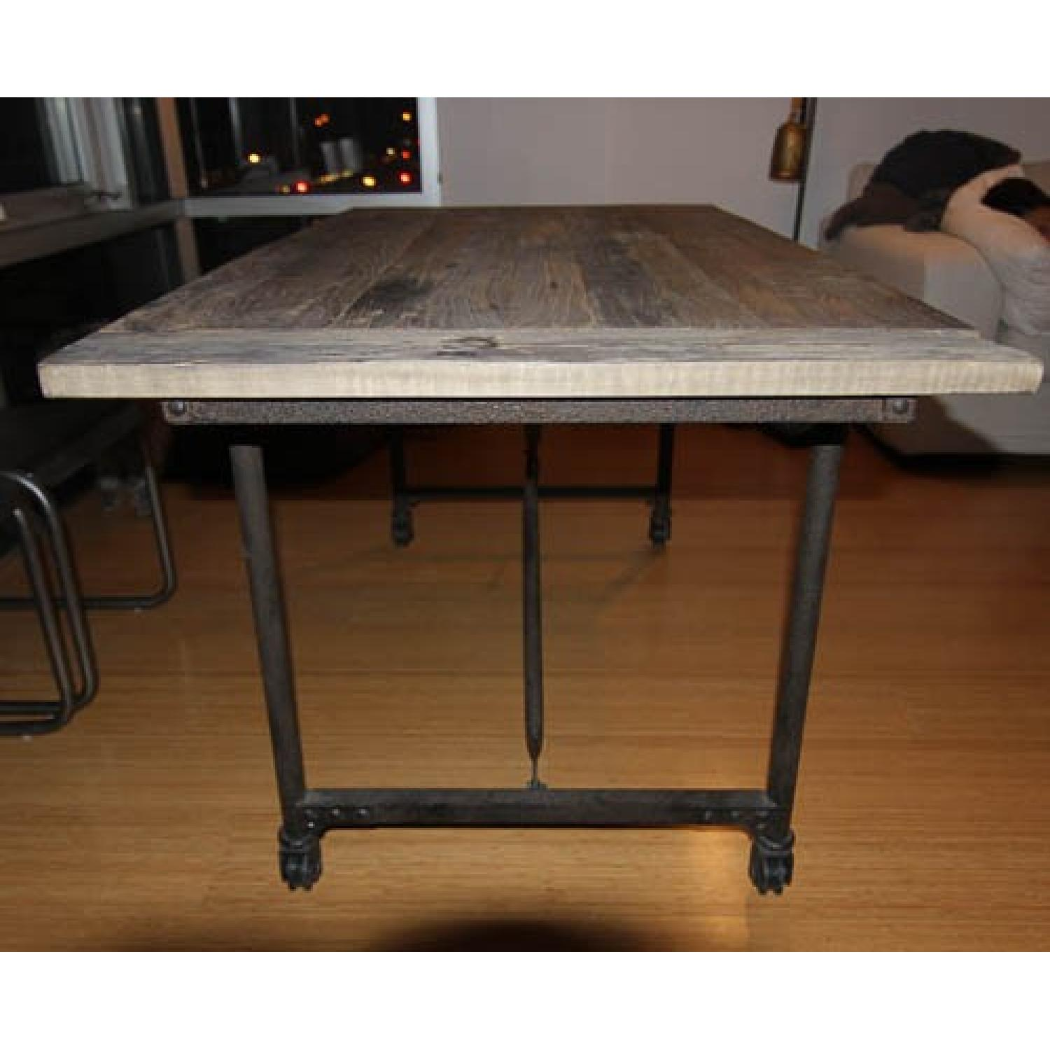 Restoration Hardware Flatiron Rectangular Dining Table - image-3