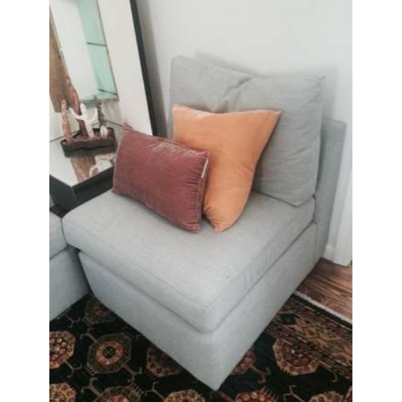 ABC Carpet & Home Modular Sofa/Chairs - image-1