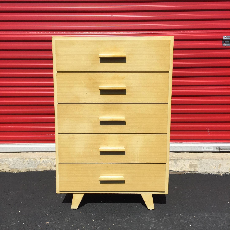 Child Craft Mid Century Modern Children's High Boy Dresser - image-1