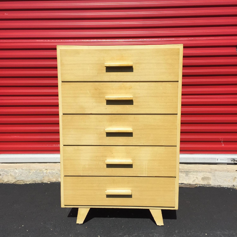 Child Craft Mid Century Modern Children's High Boy Dresser - image-4