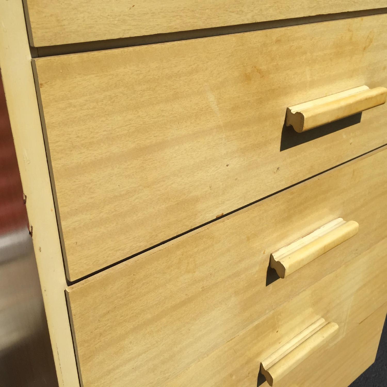 Child Craft Mid Century Modern Children's High Boy Dresser - image-5