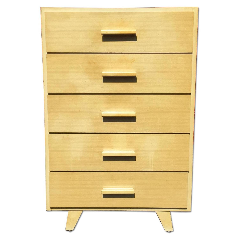 Child Craft Mid Century Modern Children's High Boy Dresser - image-0