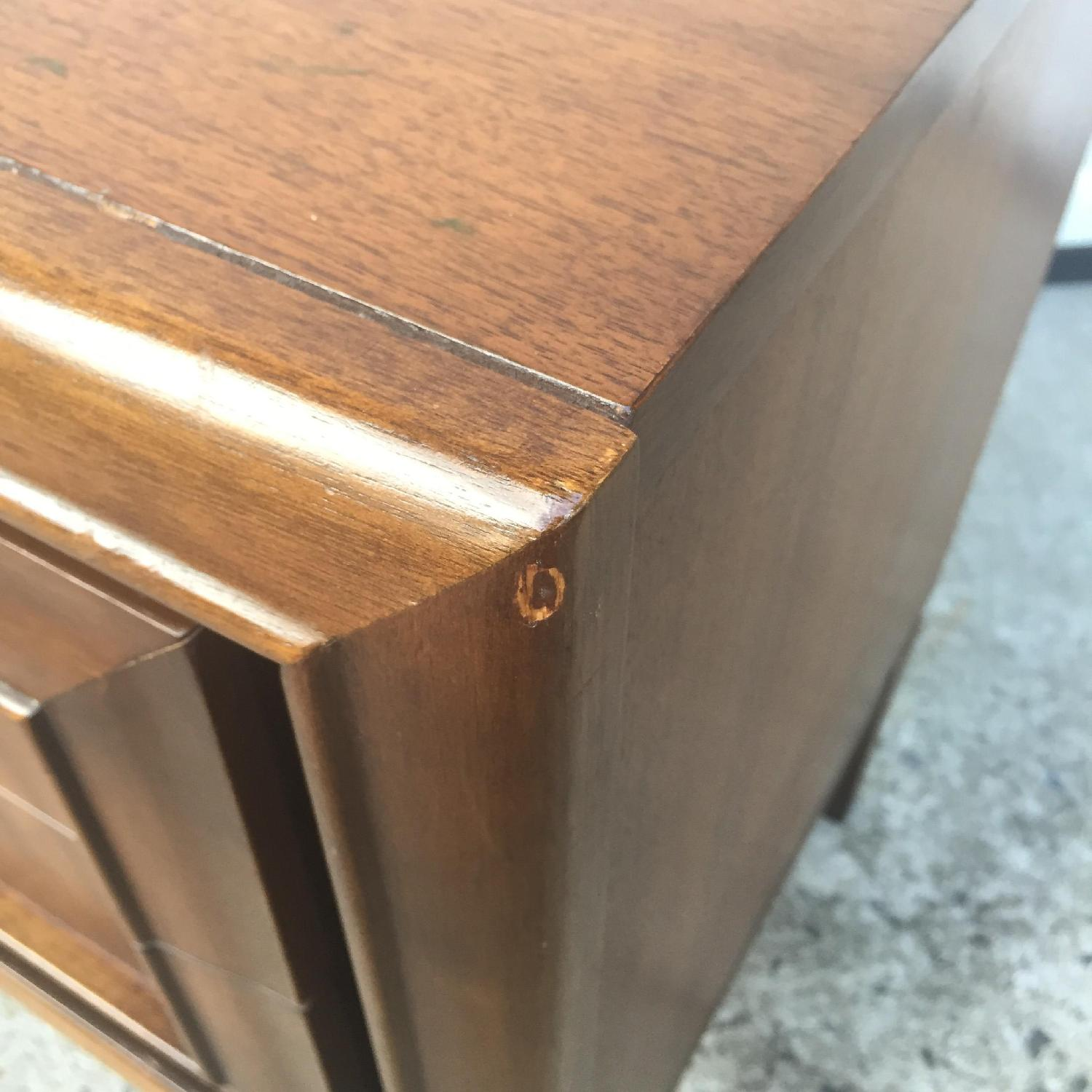 Mid Century Modern Two Drawer Night Stand - image-2