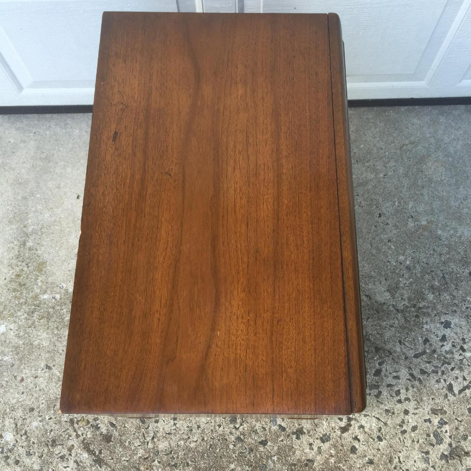 Mid Century Modern Two Drawer Night Stand - image-7