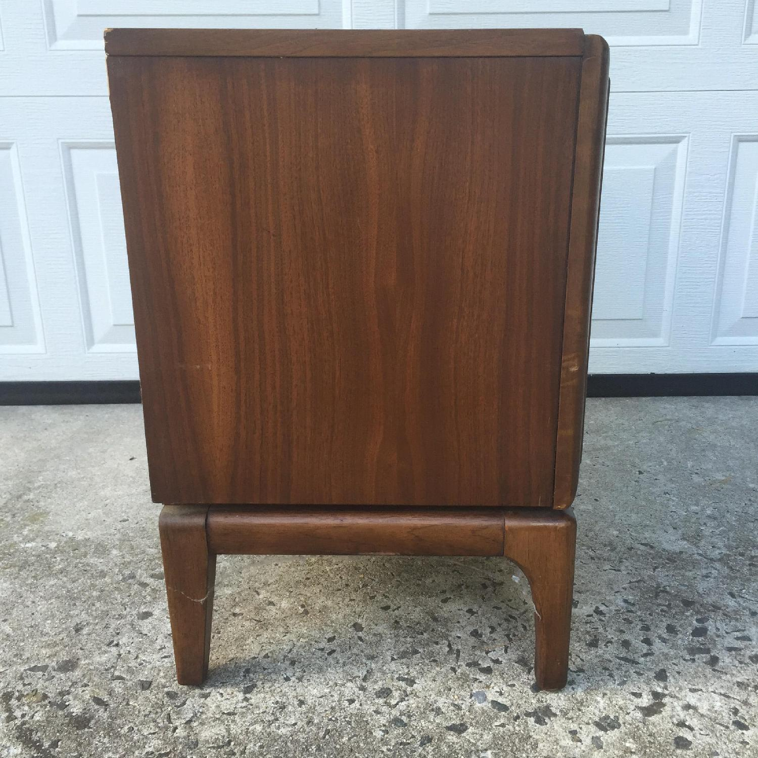 Mid Century Modern Two Drawer Night Stand - image-8