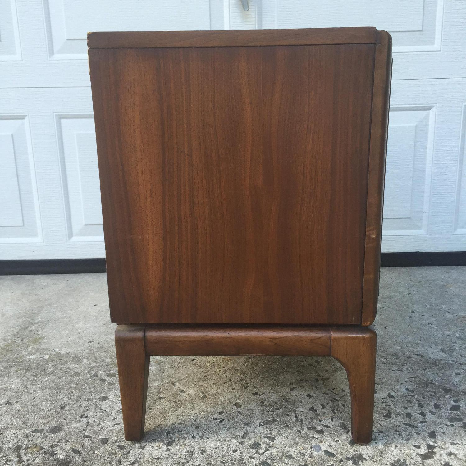 Mid Century Modern Two Drawer Night Stand - image-9