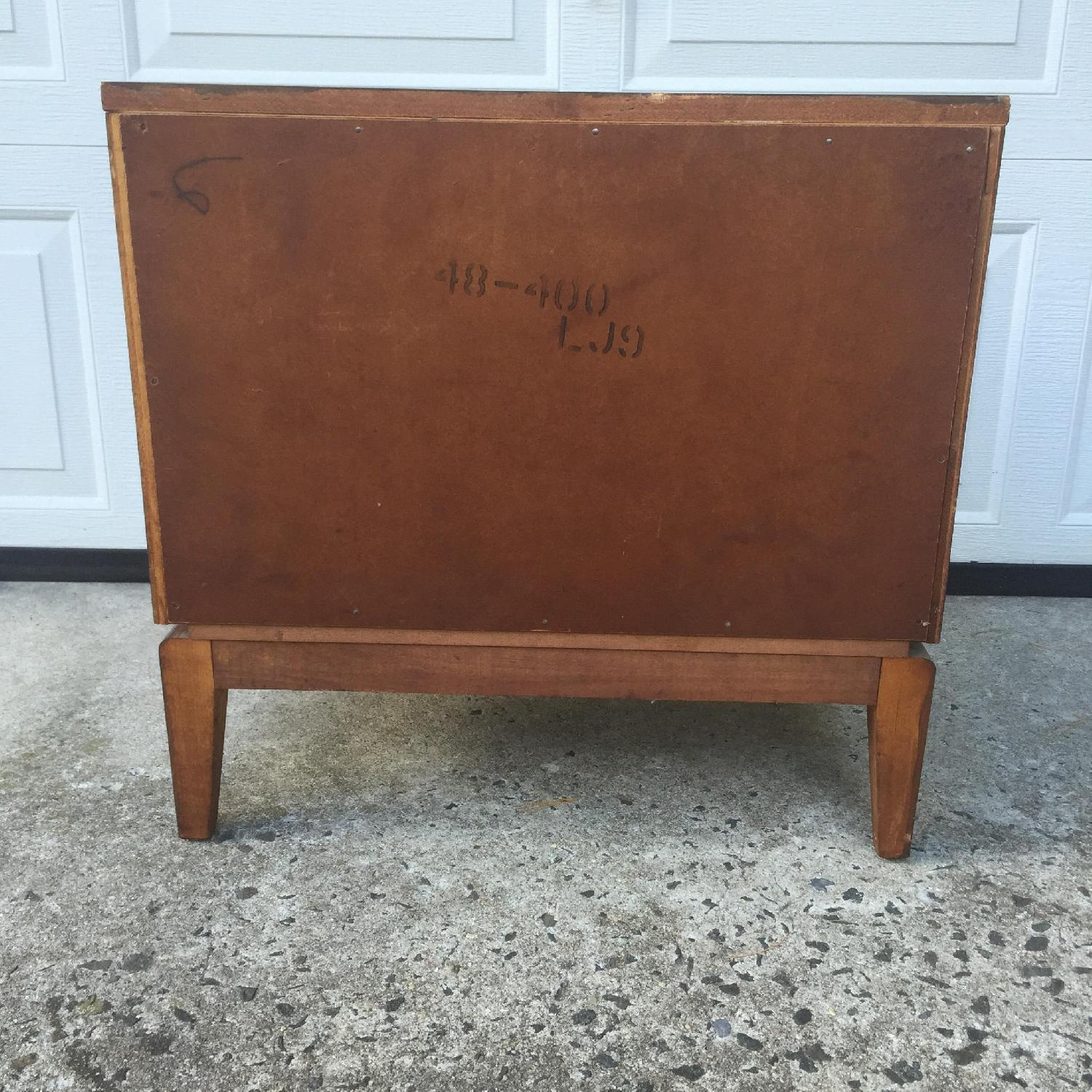 Mid Century Modern Two Drawer Night Stand - image-10