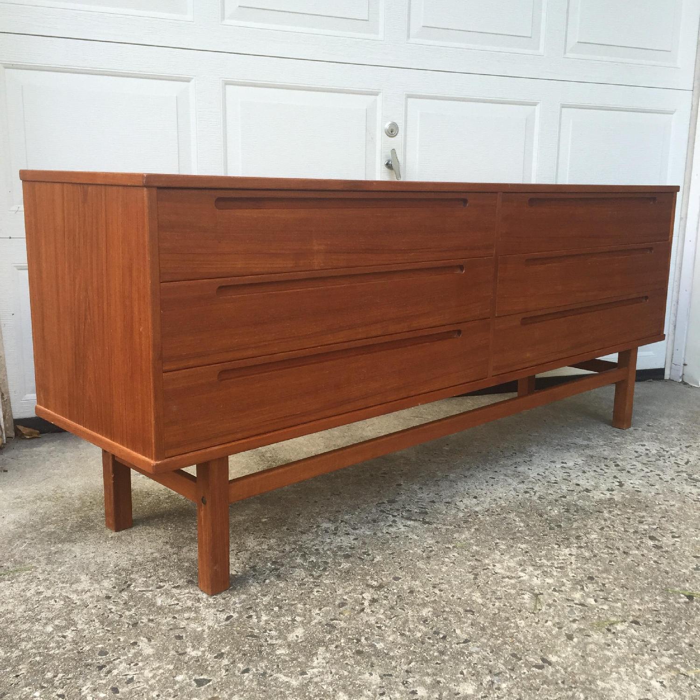 HJN Mobler/Nils Johnsson Danish Modern Six Drawer Dresser - image-2